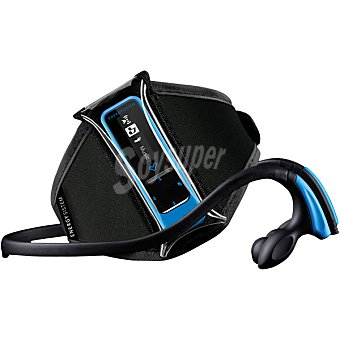 Energy Sistem MP3 de brazalete Running y auriculares de 8 GB en color azul 1 unidad