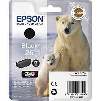 Epson Nº 26 cartucho de tinta color negro