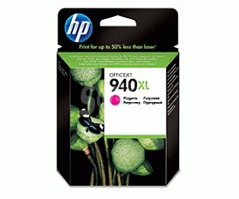 HP Cartuchos de Tinta 940XL Magenta 1 Unidad