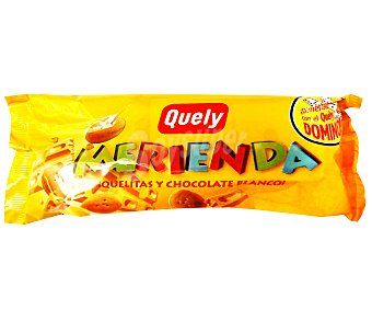 Quely Galleta de chocolate blanco 50 gramos