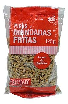 Hacendado Pipas fritas mondadas Paquete 125 g