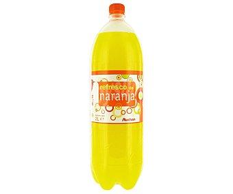 Auchan Refresco de naranja (bebida refrescante de zumo de frutas con azúcares y edulcorantes) Botella de 2 litros
