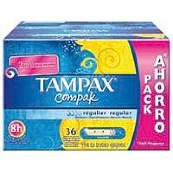 Tampax Tampax Compak Regular 36 ud