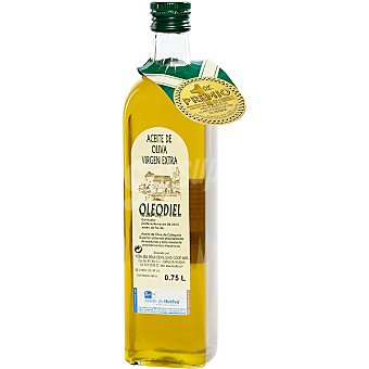 Oleodiel Aceite de oliva virgen extra Arbequina Botella 750 ml