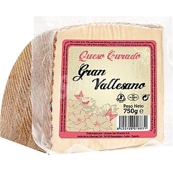 Gran vallesano queso curado mezcla cuña 750 g