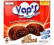 Vap's bizcochitos de chocolate rellenos de cacao horneados al vapor  4 unidades (140 g) Vap's Bollycao