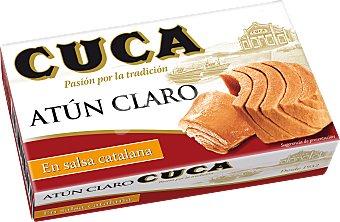 Cuca Atún claro en salsa catalana Lata 82 g peso neto escurrido