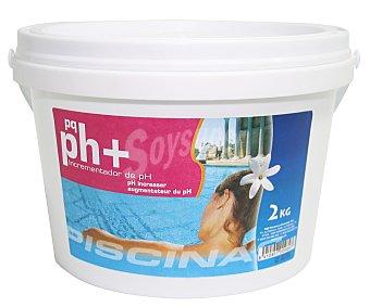 Pqs Incrementador de pH granulado, ideal para aumentar y estabilizar el pH de nuestra piscina, además de no tener acción corrrosiva 2 kg
