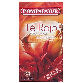 Pompadour té rojo Estuche 20 sobres