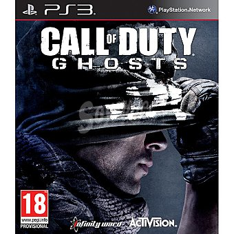 PS3 Videojuego Call of Duty: Ghosts  1 Unidad