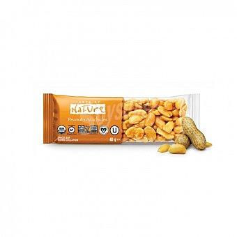 Taste of nature Barrita de cacahuete ecológica 40 G 40 g