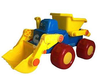 EURASPA Conjunto de juguetes de playa compuesto por una excavadora + accesorios 1 unidad