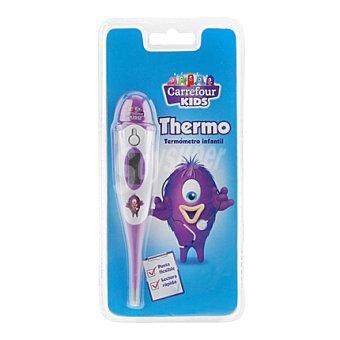 Carrefour Termómetro eléctrico infantil Punta flexible 1 ud