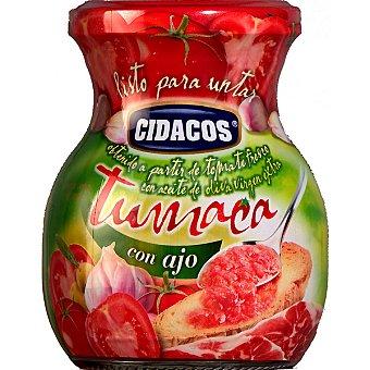 Cidacos Tumaca listo para untar con ajo Frasco 300 g