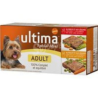 Ultima Affinity Sublime adulto de pollo Pack 4x150 g
