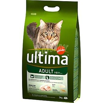 ULTIMA ADULT Rico en pollo y arroz para gato bolsa 3 kg Bolsa 3 kg