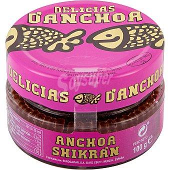 Delicias d'anchoa sucedáneo de huevas de anchoa tarrina 100 g