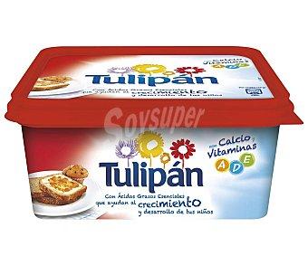 Tulipán Tarrina de margarina vegetal con calcio, leche y vitaminas a,d,e 1000 gr