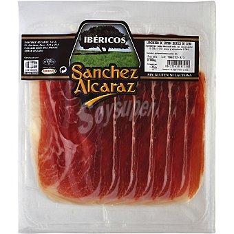 Sanchez Alcaraz Jamón ibérico de cebo de Salamanca en lonchas Envase 100 g