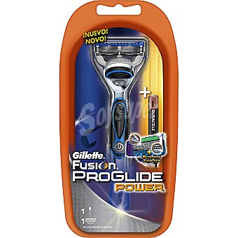 Gillette Maquinilla de afeitar Power + pila incluida blister 1 unidad