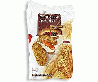 Auchan Panecillos Tostados Integrales 600g