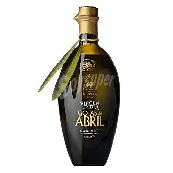 Gotas de abril Aceite de oliva virgen extra Botella 500 ml