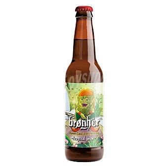 Brønhër Cerveza artesana Brønhër Forest Tales in Bronherland Tropical Brew Botella 33 cl