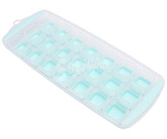 Actuel Cubitera de plástico para 21 hielos, color azul, actuel.