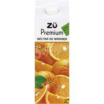 Premium Néctar de naranja Brik 2 litros
