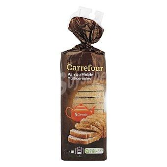 Carrefour Pan de molde multicereal 400 g