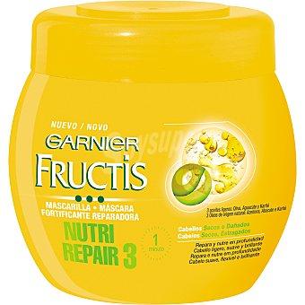Fructis Garnier Mascarilla Nutri Repair 3 Tarro 400 ml