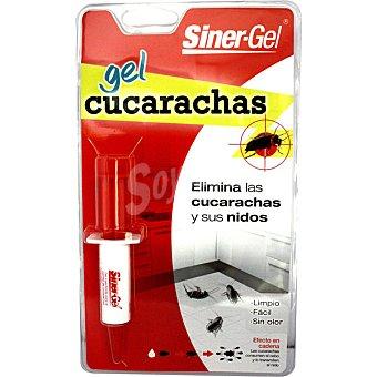 SINER-GEL Insecticida anticucarachas gel jeringa blister impio fácil sin olor 1 unidad