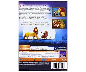 ANIMACIÓN Película en Dvd El Rey León Edición Diamante, Clásicos Disney. Género: infantil, familiar, animación. Edad. TP