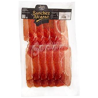 Sanchez Alcaraz Jamón ibérico lonchas Sobre 150 gr