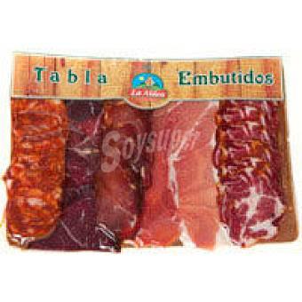 La Aldea Tabla de embutidos asturiano Sobre 300 g