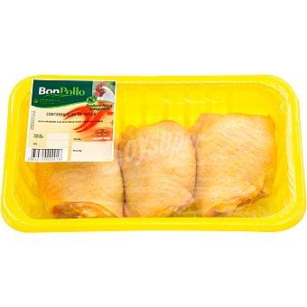 BONPOLLO Contramuslos de pollo familiar  Bandeja 1,3 kg peso aproximado