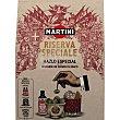 Vermouth reserva especial Estuche 2 botellas 5 cl + La Cala aceitunas rellenas de anchoa + cuenco Frasco 140 g escurrido Martini