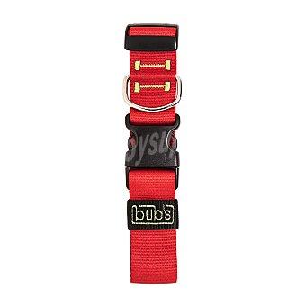 Bub's Collar para perro color rojo medida 42-62 cm 1 unidad