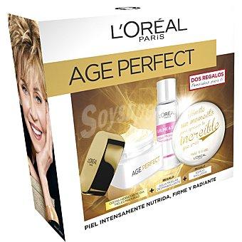 L'Oréal Pack Age Perfect con crema hidratante de día pieles maduras + regalo agua micelar desmaquillante + regalo de un espejo
