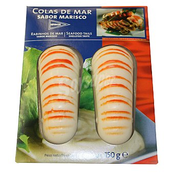 Hipercor Colas de mar sabor marisco estuche 150 g Estuche 150 g