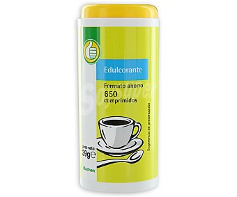 Productos Económicos Alcampo Edulcorante 650 comprimidos