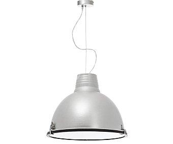 Dupi Lámpara de techo diseño pixel color plateado, 41 cm de diámetro, DUPI.