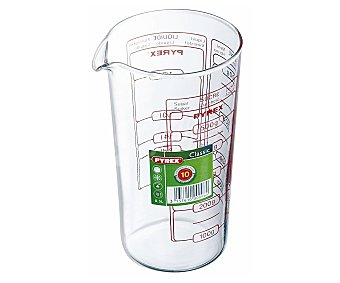 PYREX Vaso medidor con capacidad de 0,5 litros, gran resistencia. Apto para horno, y lavavajillas 1 Unidad
