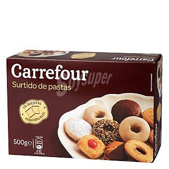 Carrefour Surtido de pastas 500 g