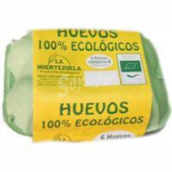 LA HUERTEZUELA Huevos ecológicos clase M 6 unid