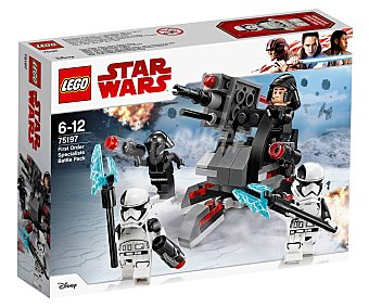 LEGO Star Wars Juego de construcciones con 108 piezas Pack de combate de especialistas de la Primera Orden, Star Wars 75197 lego