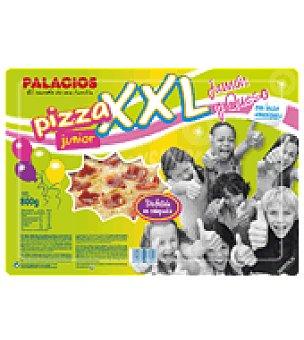 Palacios Pizza junior XXL jamón y queso 800 g