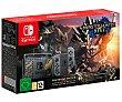 Nintendo Swtich edición Monster Hunter Rise, nintendo.  Nintendo