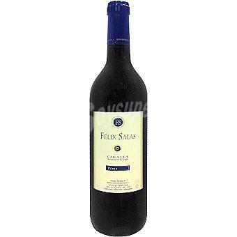 FELIX SALAS Vino tinto D.O. Cigales botella 75 cl 75 cl