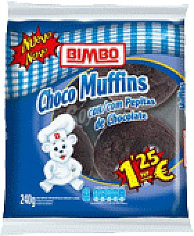 Bimbo MUFFINS PEPITA CHOCO 4 UNI